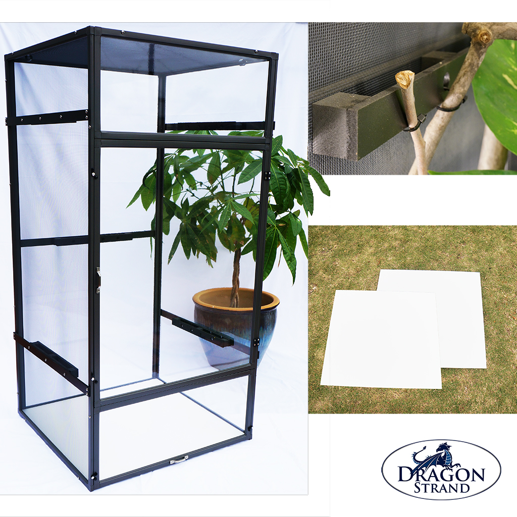 Large Clearside Chameleon Cage Kit
