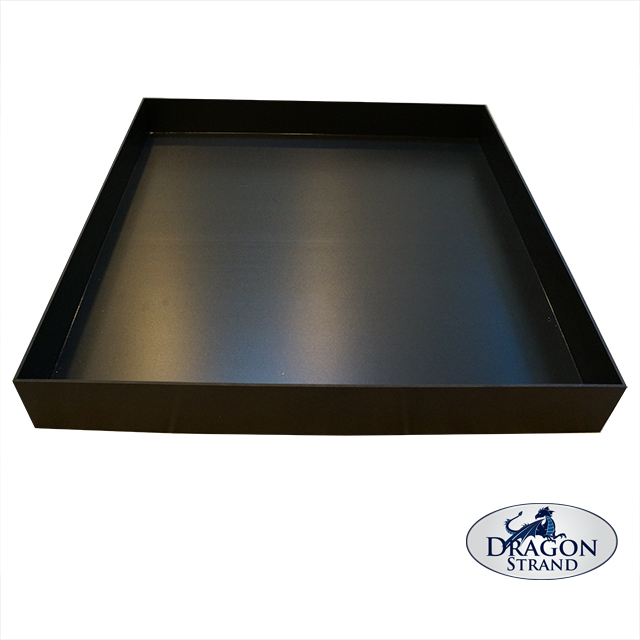 """Dragon Strand 3"""" Deep Substrate Tray for naturalistic vivariums"""