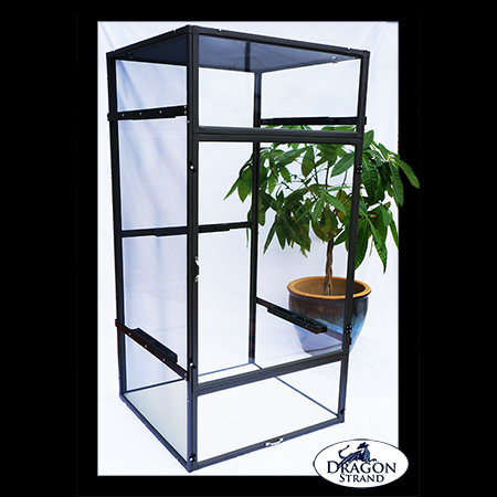 Large Clear Side Chameleon Cage