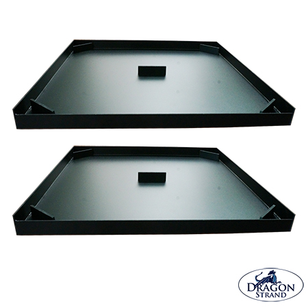 Large Keeper Drainage Tray 2-Pack