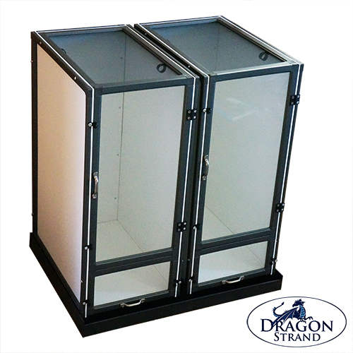 Clear Front Compact Cage System