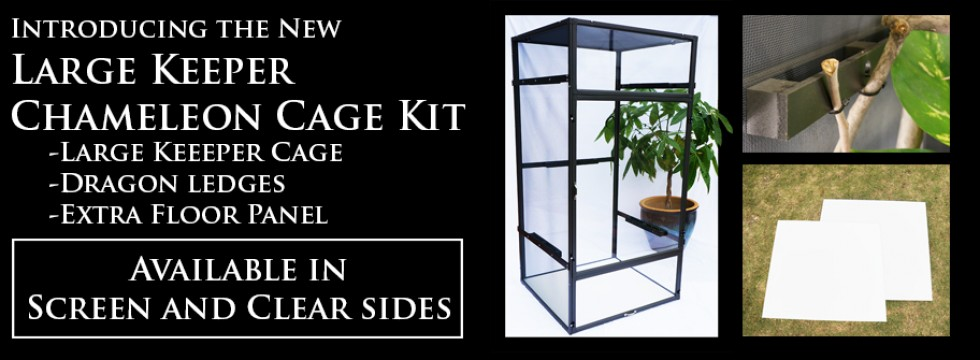 Large Chameleon Cage Kit