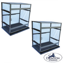 double bundle Medium Atrium Chameleon Cage