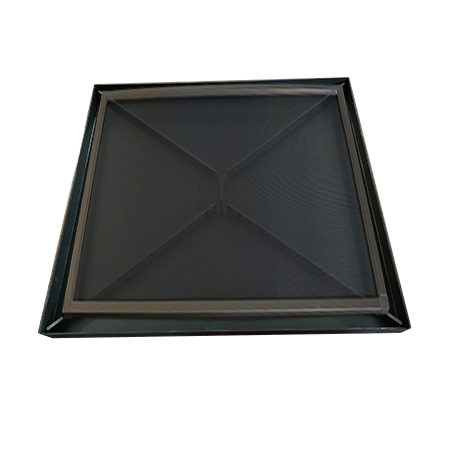 drainage tray with screen floor