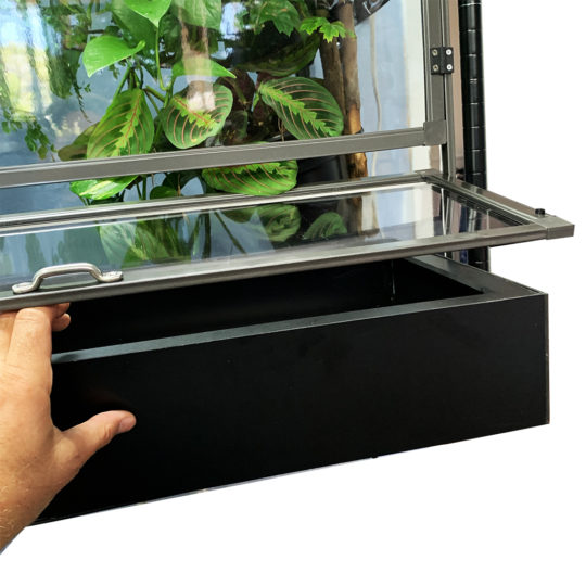 Medium Tall Clearside Atrium Deep Substrate Tray