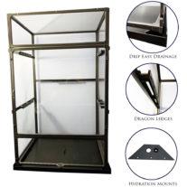 Medium Tall Clearside Atrium System